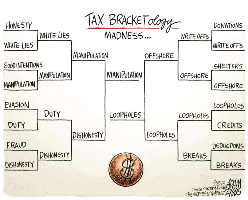 Tax Bracketology